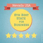 8th best state for business