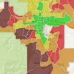 median income map