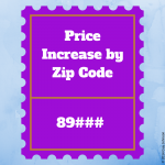 price increase by zip code - 2013
