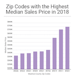 2018 Washoe County home sales by zip code